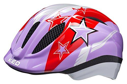 KED Meggy II Helmet Kids Purple Stars Kopfumfang XS | 44-49cm 2018 Fahrradhelm