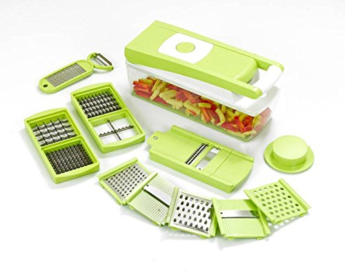 GANESH Fruit & Vegetable Chopper Slicer Dicer Grater 14 in 1
