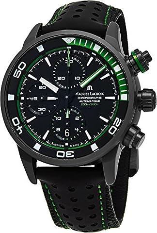 Maurice Lacroix Pontos S Extreme Diver Homme chronographe montres–43mm Noir