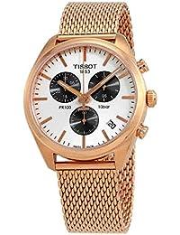 Tissot PR 100 Chronograph Rose Gold-tone Stainless Steel Men's Watch T101.417.33.031.01