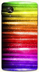 Beautiful multicolor printed protective REBEL mobile back cover for LG Nexus 5 / Google Nexus 5 D.No.N-L-11502-NX5