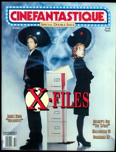 lume 26 Number 6/Volume 27 Number 1 - October 1995 - Special Double-Issue - X-Files/James Bond Goldeneye/Disney's CGI Toy Story/Halloween VI/Darkman III (Halloween 6 1995)
