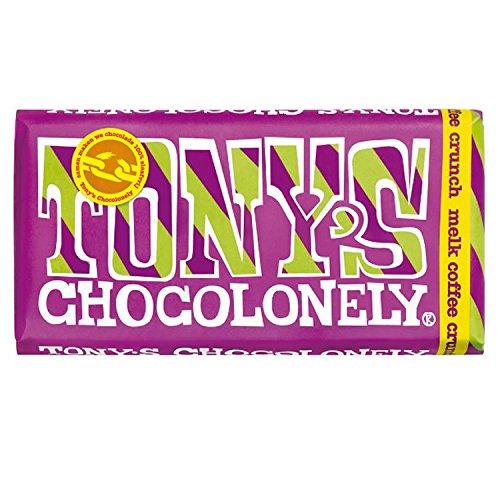 Preisvergleich Produktbild Tony's Chocolonely Vollmilchschokolade 32% Coffee Crunch mit knusprigen Kaffeebohnen