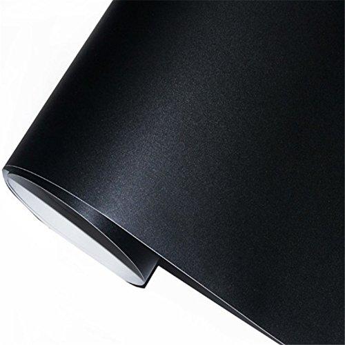 zanasta Multifunktions - Tafelfolie selbstklebend | 90 x 200cm | Premium Tafel Folie Kreidetafel für die Wand, Schwarz