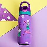 Rollsnownow 304 en acier inoxydable bouteille d'eau chaude Kid Préservation de la chaleur de haute capacité en plein air Girl Boy Isolation Pots Warm Pot Kettle Isolation Cup 500ML ( Couleur : C )