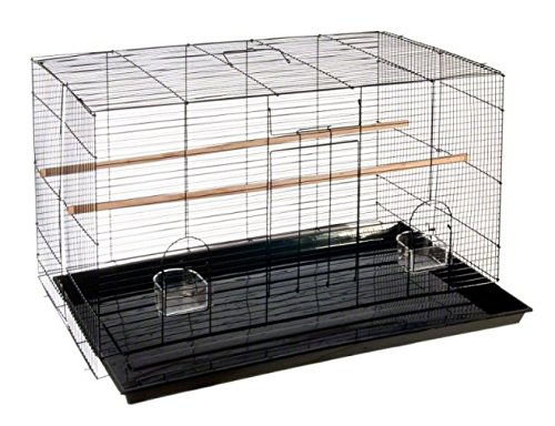 Finca Powder-Coated Metal Bird Cage - Comes Complete with Accessories and with Narrow Bar Spacing Suitable for Smaller Bird Species 1
