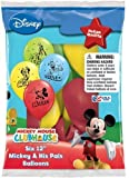 "Disney Mickey and His Pals Balloons 12"" - Total 36 (6 packs of 6 each)"