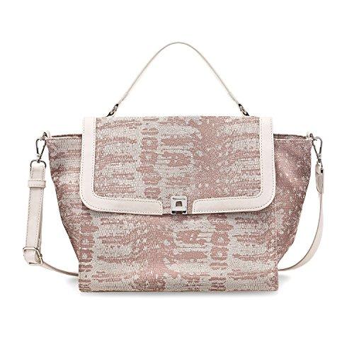 Tamaris - Vera Handbag L, borsetta tipo pochette Donna rose comb
