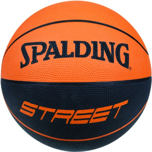 Spalding Basketball NBA Soft Touch Rubber 73-840z, Orange, 7, 3001550011517