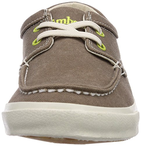 Timberland EK Hookset Camp FTM Boat Ox With Striped Rand Herren Sneakers Grün (Green)
