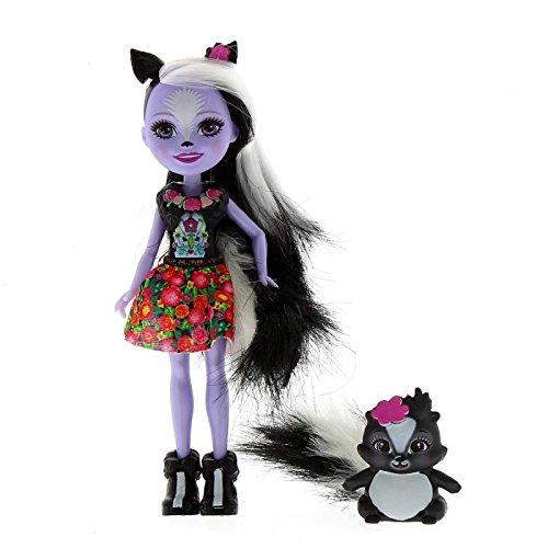 Enchantimals Muñeca Sage Skunt con Mascota