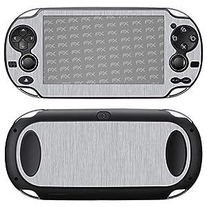 atFoliX Designfolie (Zubehör) – Struktur Skin Aufkleber kompatibel mit Sony PlayStation Vita