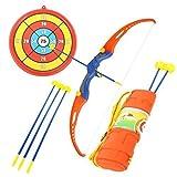 Juguete Divertido Tiro Con Arco Tiro Juego Para Niños Con bow& 3 ventosas,blanco,quiver