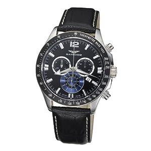 Sandoz 72579-05 – Reloj de Caballero de Cuarzo, Correa de Piel Color