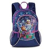 Disney Die Eiskönigin Kinderrucksack Rucksack blau 4-8 Jahre Glitzerdruck