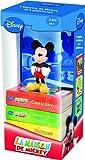 La Maison de Mickey - Une figurine et trois livres pour apprendre les formes, les contraires et les nombres