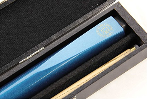 bce-metallic-blue-2pc-ash-pool-snooker-cue-hard-case-95mm-tip