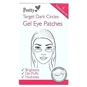 Pretty Gel Eye Patches 4 Treatments Target Dark Circles by Pretty