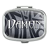 Rectangle Pill Case Trinket Gift Box Names Male Dac-Dav - Damon
