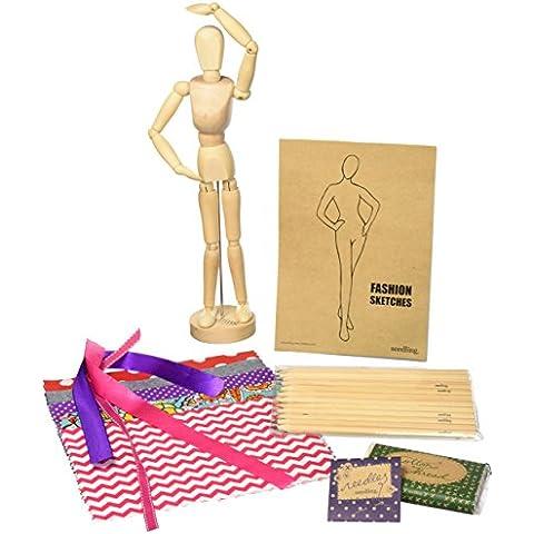 Seedling The Fashion Designer's Kit - Kit per piccoli stilisti