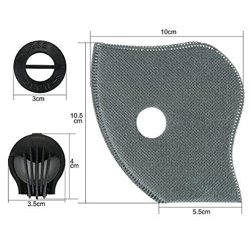 Filter, Skysper Ventil Feinstaubmaske Atemschutz filter für Atemschutzmaske