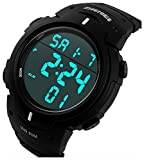 SKMEI Men's Simple Design Digital LCD Sc...