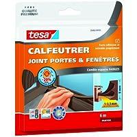 Tesa 05463-00135-00 Calfeutrer joint Portes & Fenêtres Comble espaces faibles 6 m x 9 mm x 4 mm