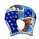 #1: Kuber Industries™ U Shape Feeding & Nursing Baby Neck Pillow - Color and Print May Vary - KUB381
