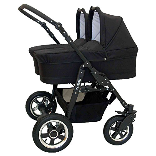 Zwillingskinderwagen Freestyle Twins 2in