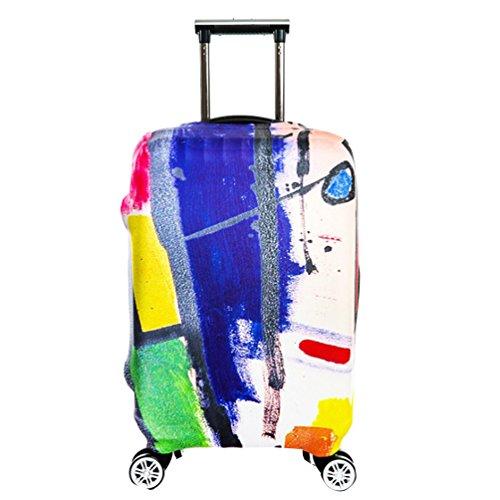YiJee Elastic Gepäck Schutz-Koffer Abdeckung Für Beutel 18-32 Zoll Wie Das Bild 2 L