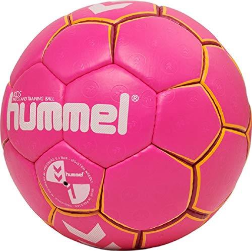 hummel HMLKIDS-Handball für Kinder, Pink/Gelb, 0