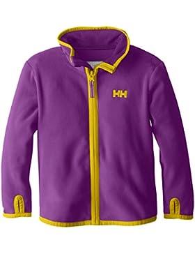 Helly Hansen Day Breaker Fleece–Kid de chaqueta, chaqueta, Infantil, color Sunburned Purple, tamaño Talla 10