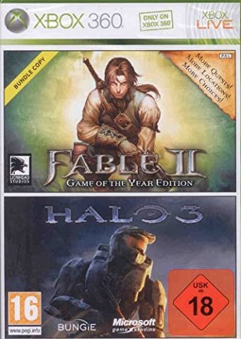 FABLE 2 GAME OF THE YEAR + HALO 3 (VERSION FRANCAISE)