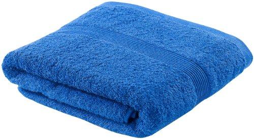 Wilson Gabor Frottee-Badetuch: Duschtuch aus Baumwoll-Frottee 140 x 70 cm, blau (Badetuch Baumwolle-Frottee)