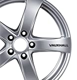 6x Vauxhall Alufelgen Aufkleber Corsa Astra Zafira Insignia VXR Auto Tuning