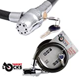 Best Bike Locks With Alarms - Target TL112 Alarmed Cable Lock - High Security Review
