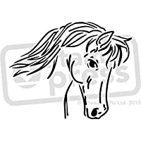 A5 /'Windhund/' Wandschablone WS00033088 Vorlage