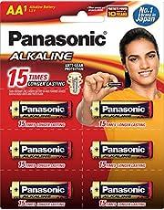 Panasonic Battery Alkaline AA 6Pcs 1B6 Battery