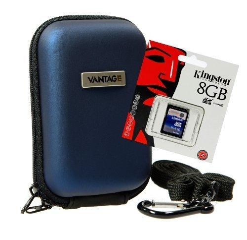 Foto Tasche Hardbox VANTAGE Set mit 8 GB SD Karte (Rx100 Sd-karte)