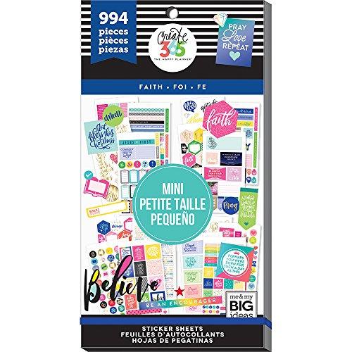 Unbekannt Me & My Big Ideas mamppsv3048.33schaffen 365Big Mini Faith HP Aufkleber Value Pack -