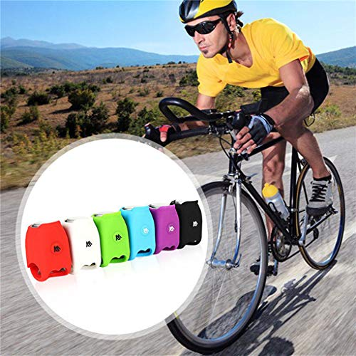 AMUSTER Bicycle Silicone Electronic Horn Accessories Mountain Bike Riding Equipment