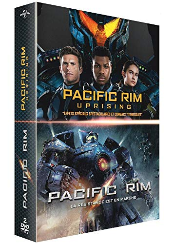 Coffret pacific rim 2 films : pacific rim ; uprising [FR Import]