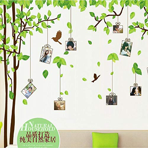 men Wand Aufkleber Romantischen Schlafzimmer Hintergrund Klassenzimmer Anime Home-Layout Aufkleber 60 * 90cm Beidseitig Sehen ()