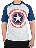 Marvel Avengers Herren Captain America T-Shirt Small
