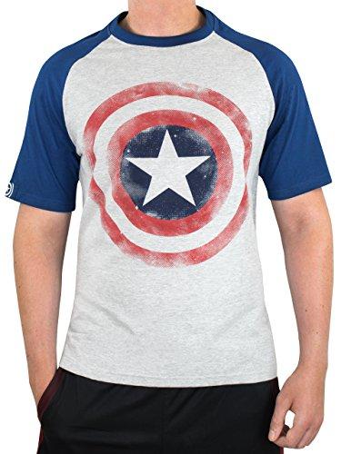 Marvel Captain America Mens Avengers Captain America T-Shirt