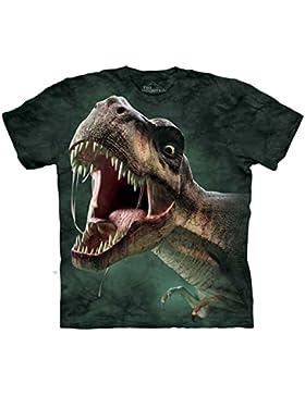 The Mountain Unisex Kinder T Rex Roar Dinosaurs T Shirt