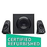 Best Thx Certified Speakers - (CERTIFIED REFURBISHED) Logitech Z-623 2.1 Channel THX-Certified Multimedia Review