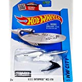 Hot Wheels, 2015 HW City, Star Trek, U.S.S Enterprise NCC-1701 Die-Cast Vehicle #43/250 by Hot Wheels