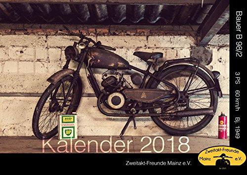 Oldtimer Zweitaktmotor Kalender 2018 A3 NSU DKW ADLER VESPA