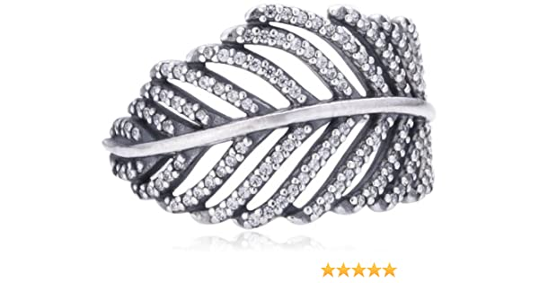 95cce7e68 Pandora 190886CZ Women's Ring - 925 Sterling Silver with White Zirconia:  Amazon.co.uk: Kitchen & Home
